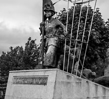 Countess Markievicz Statute ,Sligo, Ireland. by Martina Fagan