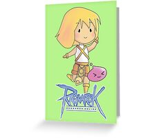 [RO1] A Little Novice Greeting Card