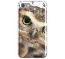 Burrowing Owl Portrait I  iPhone Case/Skin