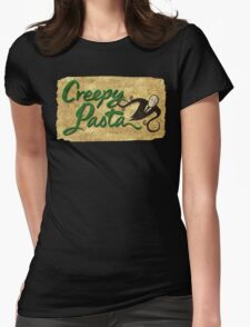 Creepy Pasta Womens Fitted T-Shirt