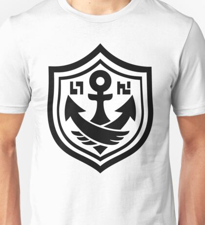 SquidForce White Anchor Tee Unisex T-Shirt