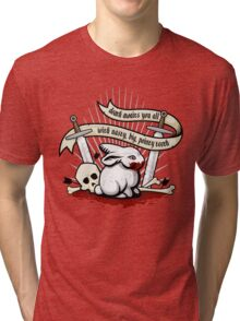 The Rabbit of Caerbannog Tri-blend T-Shirt