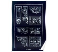 A Handbook Of Ornament With Three Hundred Plates Franz Sales Meyer 1896 0253 Supports Console Inverted Poster