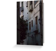 Houses in Sorrento, Italy Greeting Card