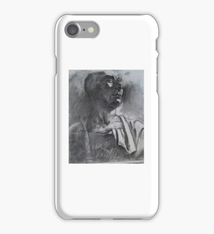 Ancient Greek sculpture philosopher  iPhone Case/Skin