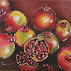 Pomegranates by Marie Theron