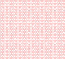 Seamless hearts pattern by ibphotos