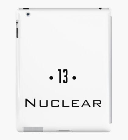 D 13 - Nuclear iPad Case/Skin