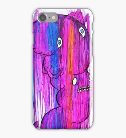 Tense Little Parasite iPhone Case/Skin