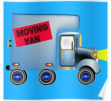 Alvin the Moving Van Poster