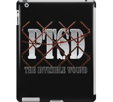 PTSD - The Invisible Wound iPad Case/Skin