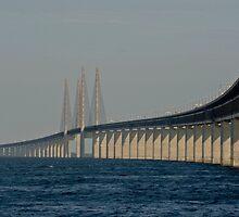 Bridges in Denmark - Øresunds Bridge by imagic