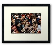 Zombies Framed Print