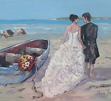 Wedding at Paternoster by Marie Theron