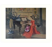 The Recital Art Print