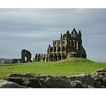 Whitby Abbey, North Yorkshire Coast Photographic Print