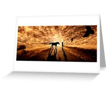 Distant Eden Greeting Card