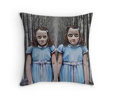 Play With Us Throw Pillow