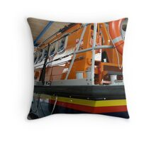 Lifeboat at Lytham St Annes Throw Pillow