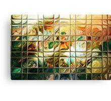 Abstract - Through Glass Canvas Print