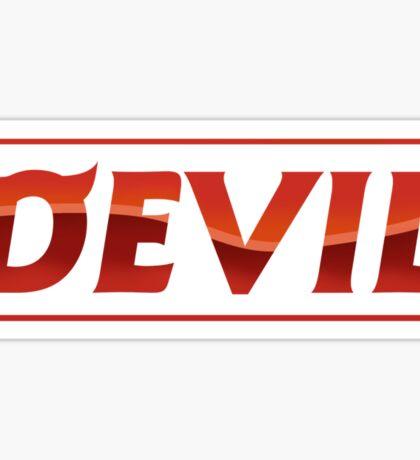 Super Junior SuJu - DEVIL Sticker