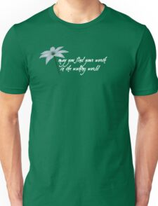 """Plain Doll """"may you find your worth in the waking world"""" Unisex T-Shirt"""