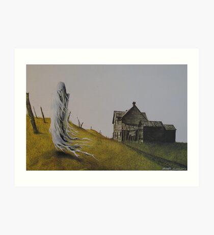 The Forgotten Ghost Art Print