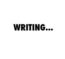 Writing... by Mariapuraranoai