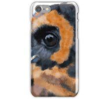 Brown Wood Owl Portrait II iPhone Case/Skin