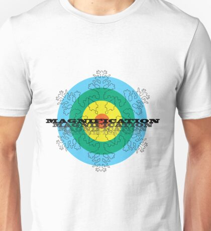 Magnification Snowflake Unisex T-Shirt