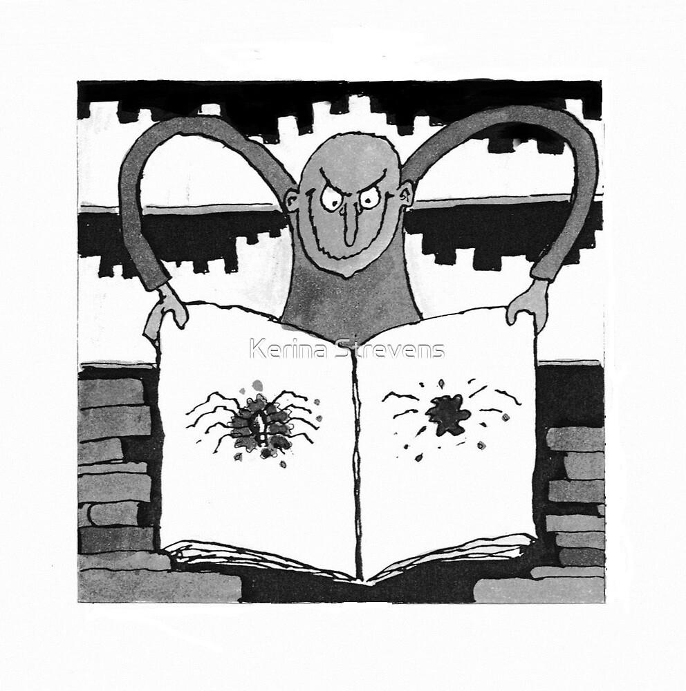 Spider Man by Kerina Strevens