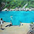 Bus stop - Capri style by Carole Russell