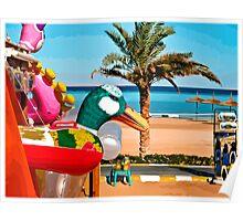 beach toys #1 Poster