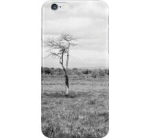 Lonely Tree Black & White iPhone Case/Skin