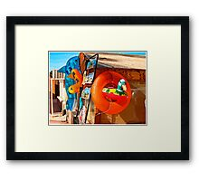 beach toys #2 Framed Print