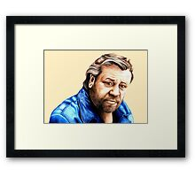 'Vincent' played by Ray Winstone Framed Print