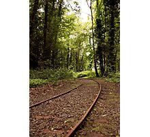 Lost Railway Photographic Print
