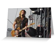 Keith Urban - BVJ Greeting Card