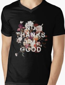No Thanks I'm Good Mens V-Neck T-Shirt