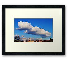 'On Cloud 9' Framed Print
