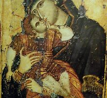 Virgin Mary,panagia,Christian icon by Royalcollector