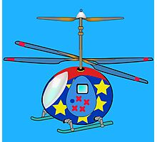 Mikie the Helicopter Photographic Print