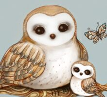 Baby Barn Owl Sticker