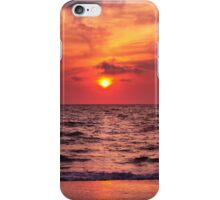 Tropical Sunset Beach iPhone Case/Skin