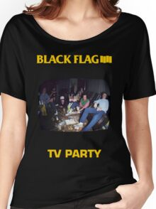 Black Flag - TV Party Women's Relaxed Fit T-Shirt