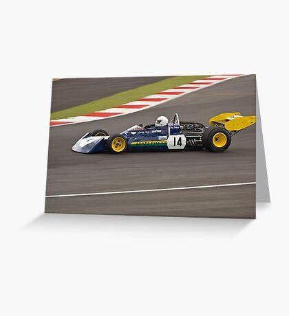 1973 Surtees TS14 Greeting Card
