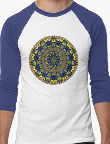 Psychedelic Journey Through Time and Space Men's Baseball ¾ T-Shirt