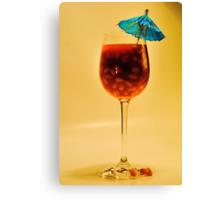 'Baked Bean Cocktail' Canvas Print