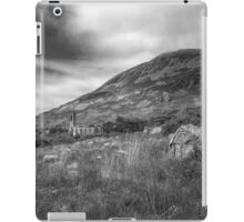 Mount Errigal and the Derelict Church iPad Case/Skin