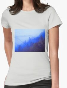 MOUNTAIN MIST Womens Fitted T-Shirt